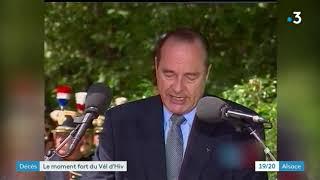 Interview de Frédérique Neau Dufour à propos du discours de Jacques Chirac au Vel d'Hiv