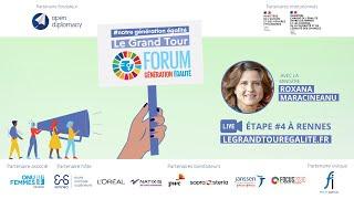 Etape 4 du Grand Tour #NotreGénérationÉgalité avec Mme Roxana Maracineanu