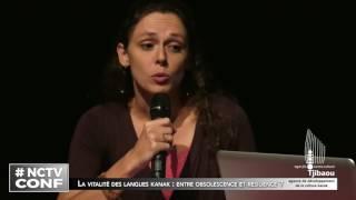 Nctv Conférence - La vitalité des langues kanak